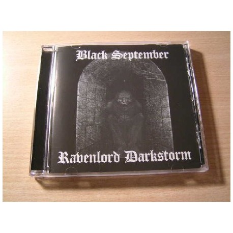 BLACK SEPTEMBER/RAVENLORD DARKSTORM split CD