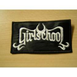 GIRLSCHOOL patch