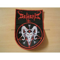 BEHERIT dawn of satan millenium shaped patch