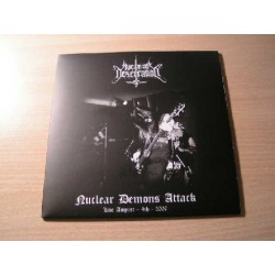 "NUCLEAR DESECRATION (USA) ""Nuclear Demons Attack"" EP"