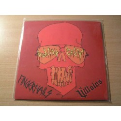 "VILLAINS/FINGERNAILS split 7""EP"