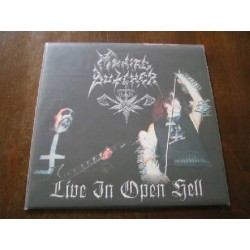 "MANIAC BUTCHER ""Live in Open Hell"" 12""LP"