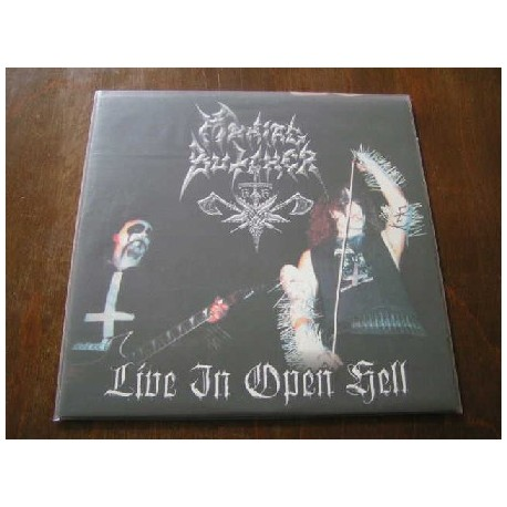 """MANIAC BUTCHER """"Live in Open Hell"""" 12""""LP"""