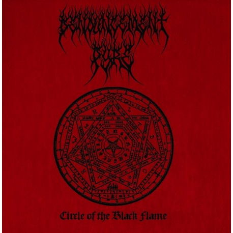 "DENOUNCEMENT PYRE ""Circle of the Black Flame"" 7""EP"