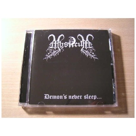 "MYSTICUM (Norway) ""Demon's Never Sleep..."" CD"
