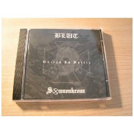BLUT/SONNENKREUZ split CD