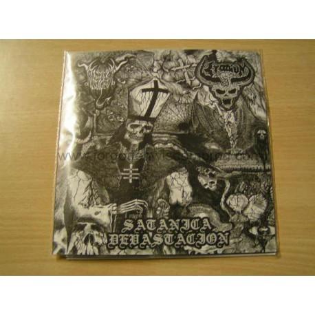 "BLACK ANGEL/KRANIUM split 7""EP"