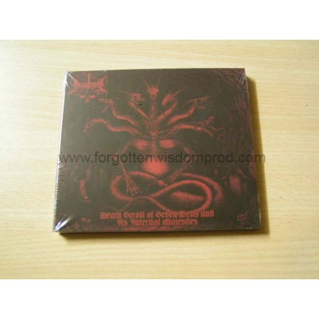 "HELLVETRON ""Death Scroll Of Seven Hells..."" Digipack CD"