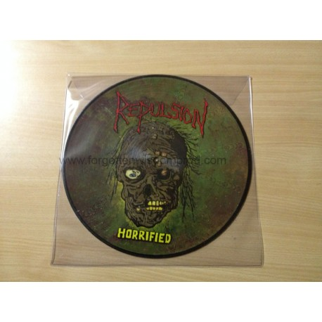 "REPULSION ""Horrified"" 12"" Pic LP"