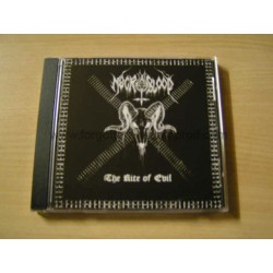 "NECROBLOOD ""The Rite of Evil"" CD"