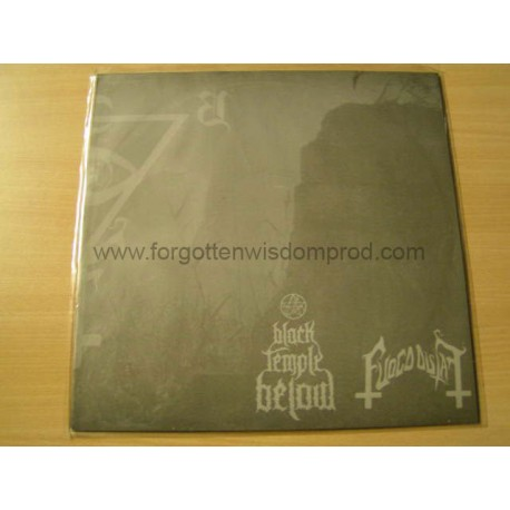 "BLACK TEMPLE BELOW/FUOCO FATUO split 12""LP"