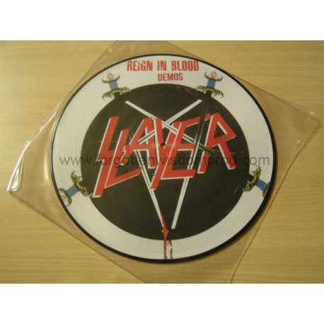 "SLAYER ""Rain in Blood Demo"" Pic 12""LP"