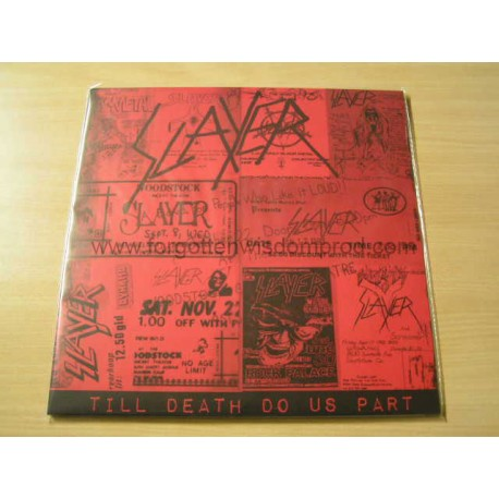 "SLAYER ""Till Death do us part"" 12""LP"
