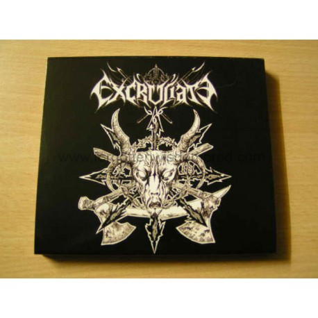 "EXCRUCIATE666 ""Rites of Torturers"" slipcase CD"