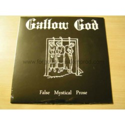 "GALLOW GOD ""False Mystical Prose"" 12""LP"