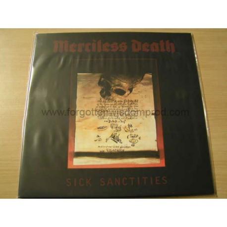 """MERCILESS DEATH """"Sick Sanctities"""" 12""""LP"""