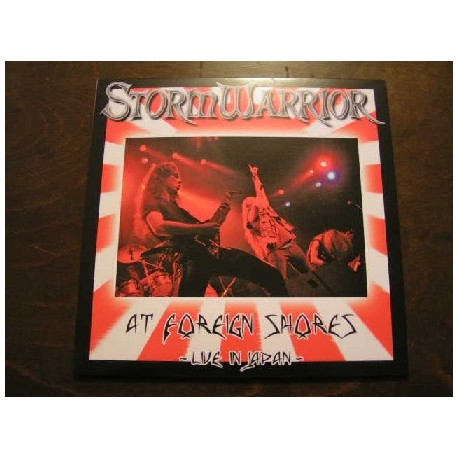 "STORMWARRIOR ""At Foreign Shores - Live in Japan"" 12""LP"
