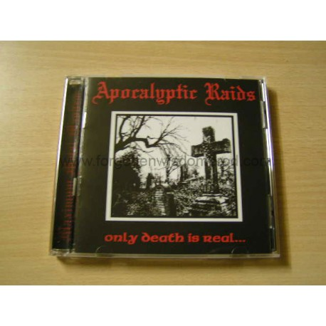 "APOKALYPTIC RAIDS ""Only Death is Real"" CD"
