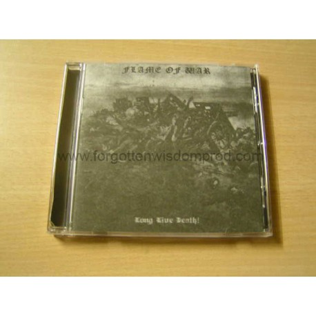 "FLAME OF WAR ""Long Live Death !"" CD"