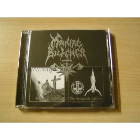 "MANIAC BUTCHER ""Immortal Death/Incapable Carrion"" CD"