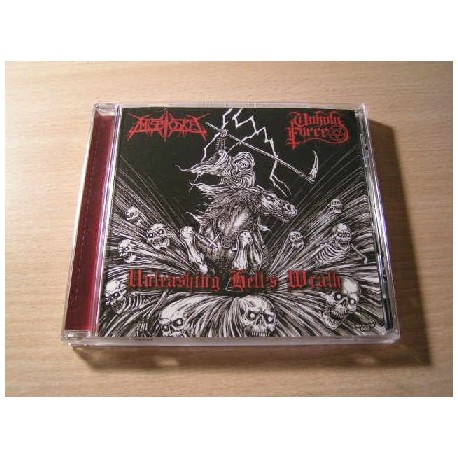 MISERYCORE/UNHOLY FORCE split CD