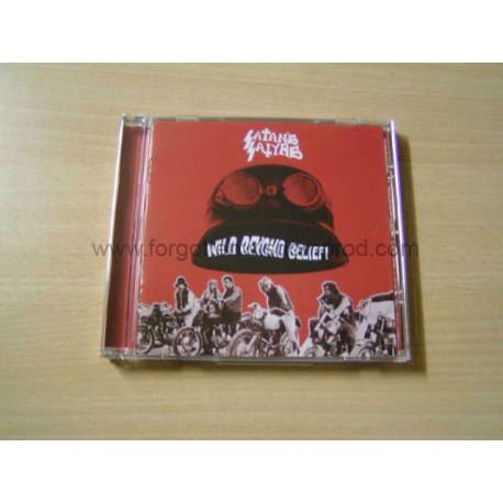 "SATAN'S SATYRS ""Wild Beyond Belief"" CD"