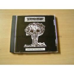 "TERMINATOR ""Evil of the World"" CD"