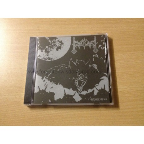 "MOONBLOOD ""Of Lunar Passion and Sombre Blood"" CD"