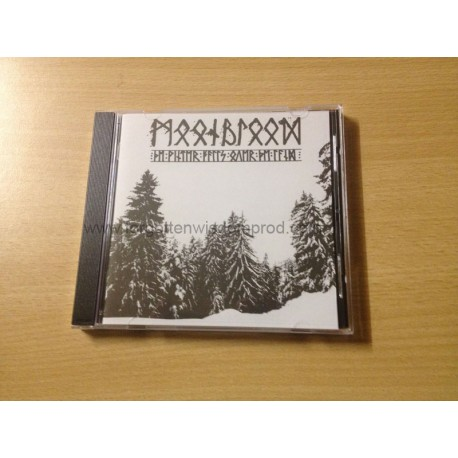 "MOONBLOOD ""The Winter falls over the Land"" CD"