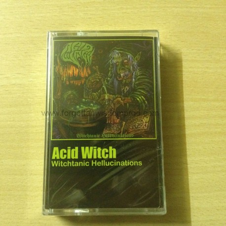 "ACID WITCH ""Witchtanic Hellucinations"" Pro tape"
