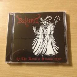 """BEHERIT """"At the Devil's Studio"""" CD"""
