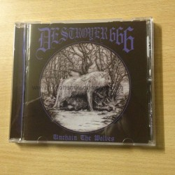 "DESTROYER666 ""Unchain the Wolves"" CD"