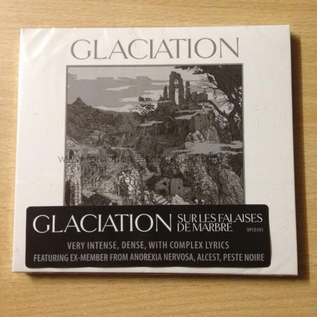 "GLACIATION ""Sur les Falaises de Marbre"" Digipack CD"