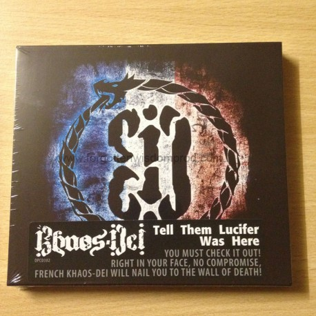 "KHAOS DEI ""Tell them Lucifer was here"" slipcase CD"