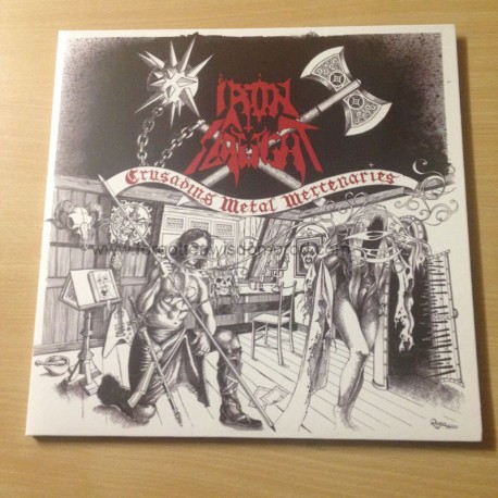 "IRON SLAUGHT ""Crusading Metal Mercenaries"" 12""LP"