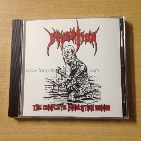"IMMOLATION ""The complete Immolation demos"" CD"
