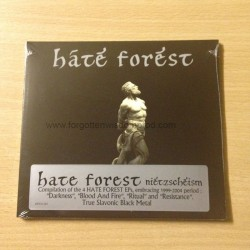 "HATE FOREST ""Nietzscheism"" Digipack CD"