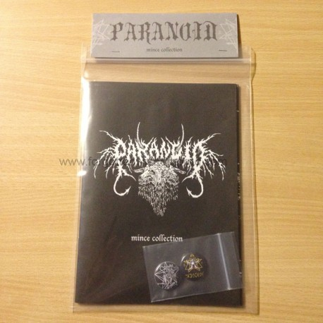 PARANOID Mince Collection artbook