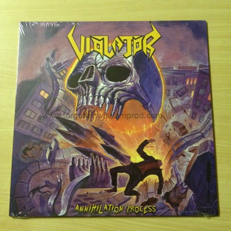 "VIOLATOR ""Annihilation Process"" 12""LP"