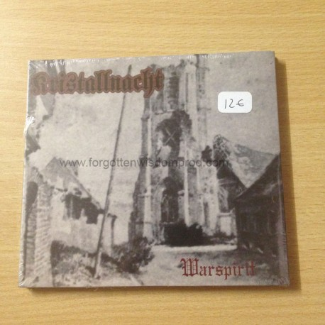 "KRISTALLNACHT ""Warspirit"" Digipack CD"