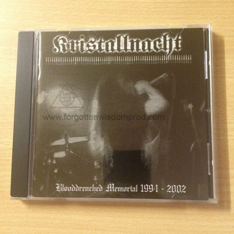 "KRISTALLNACHT ""Blooddrenched Memorial 1994-2002"" CD"