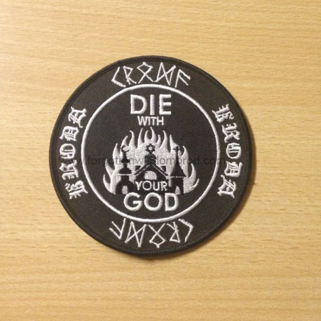 "KRODA ""Die with your God"" patch"