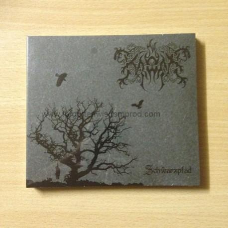 """KRODA """"Schwarzpfad"""" Digipack CD"""
