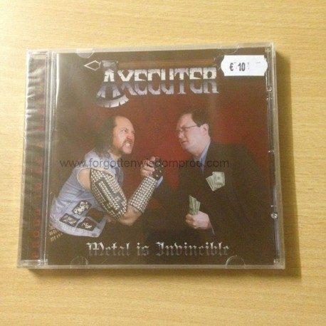 "AXECUTER ""Metal is Invincible"" CD"