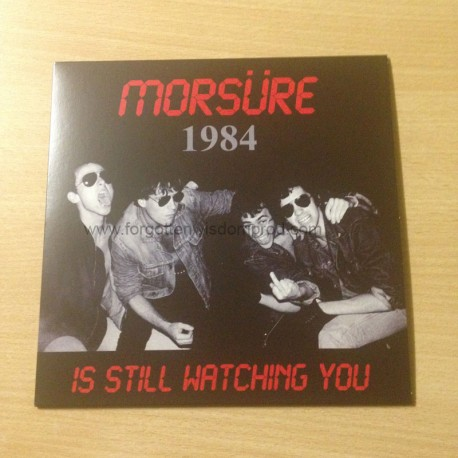 "MORSÜRE ""Is still watching you"" 7""EP"