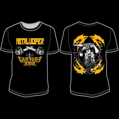 GUERRA TOTAL/METALUCIFER Tshirt