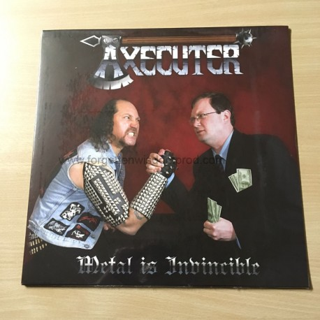 "AXECUTER ""Metal is Invincible"" 12""LP"