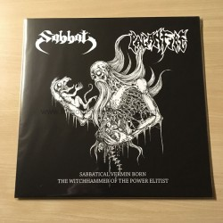 "SABBAT/PAGANFIRE split 12""LP"