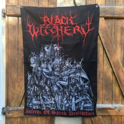 BLACK WITCHERY flag