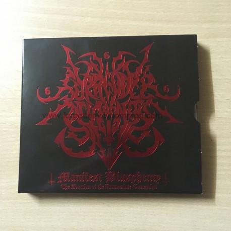 "SURRENDER OF DIVINITY ""Manifest Blasphemy"" slipcase CD"